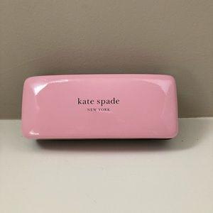 Kate Spade pink/green eyeglass case